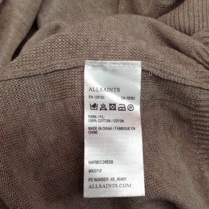 All Saints Dresses - All Saints Hafbec Cut Out Dress Size 8